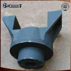 Aleación de acero forjado personalizadas de ingeniería de la horquilla de la polea de maquinaria en China