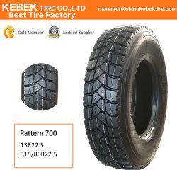 Nuevo Servicio Pesado Radial TBR Tubeless y tubos neumáticos 385/65R22.5 neumáticos para camiones