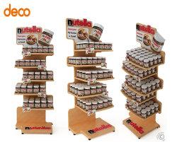 Commerce de gros de la publicité papier ondulé affichage Détail tablette de chocolat