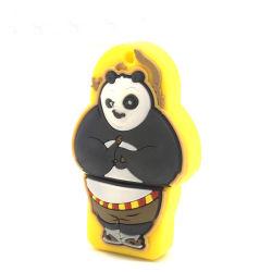 Großhandels-Firmenzeichen-Flash-Speicher des Belüftung-Panda-Form USB-Stock-2.03.0 fördernder Pendrive personifizierter Stock USB-2GB