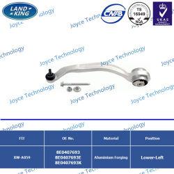懸垂装置はAudi Passat/A4/A6/A8/FAW A4 OEM 8e407693/8e0407693e/8e0407693K/8e0407694/8e0407694e/8e0407694Kのための自動コントロールアームを分ける