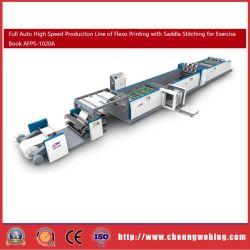 Haspel Papier Flexo Printing Machinery For Exercise Book Stitching