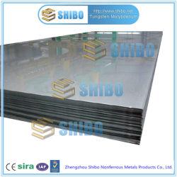 El suministro directo de fábrica de hoja de molibdeno puro con la laminación en frío de la superficie brillante