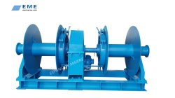 Treuil hydraulique marine d'amarrage avec de puissants Hpu