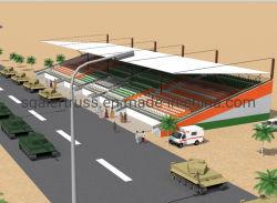Китай на заводе настраиваемые легких стальных структуру для металлических зданий крыша стадиона