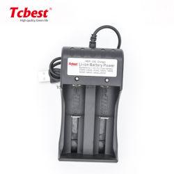 O OEM 2 slots de 1,2V AA AAA carregador da bateria portátil inteligente usar para o carregador da bateria 18650 3.7V 3.2V recarregador de bateria de iões de lítio