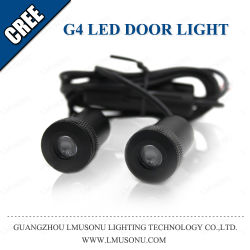 Логотип автомобиля светодиодная лампа проектора Настройка Auto Ghost светодиодный индикатор теней 12V 5 Вт