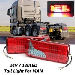 24V 트레일러 LED 테일 라이트 미니 테일 라이트 트럭 LED 맨벤츠 트럭 테일 램프를 들를 수 있습니다