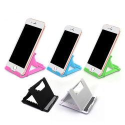 다채로운 플라스틱 정제 셀룰라 전화 대 홀더 주문 로고를 가진 유연한 Foldable 정제 셀룰라 전화 대 홀더