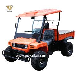 La más alta calidad agrícola de las cuatro ruedas 5kw a 48V Vehículo Utilitario eléctrico carretilla granja