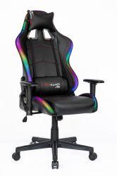 인기 있는 리클라이너 게임 레이싱 가죽 인체공학적 오피스 RGB 의자