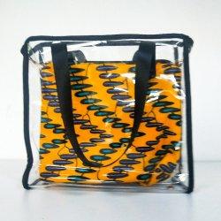 Accessori africani di arrivo del sacchetto di Tote delle signore della borsa della stampa del PVC nuovi