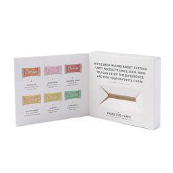 Boîte de papier pour le thé ensemble DVD emballage carton