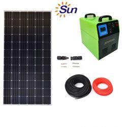 1つの太陽エネルギーキットの太陽照明装置1000W Portibleの太陽エネルギーの発電機システムすべて