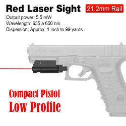 Roter einhängender roter Laser-Anblick des Laser-Anblick-20mm/roter Laser-Zeiger/roter Laser HK20-0015