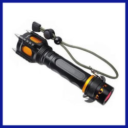 T6 3800lm Navulbare Tactische Self-Defence CREE LEIDEN Flitslicht (sysg-180901)