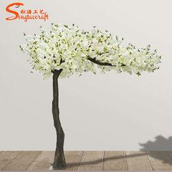 Invitaciones de boda romántica Sakura Arch las ramas de Madera Natural blanco artificial de los cerezos en flor de Árbol de flores de seda para interior decoración exterior