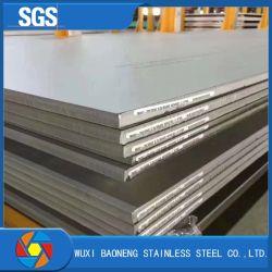 Tôles en acier inoxydable laminés à chaud/plaque de 201/202/304/304L/316L/904L de haute qualité