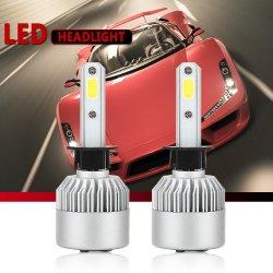 COB S2 bom carro Kit de Conversão de carro farol LED H1h3h4h11h13 Carro Farol LED 9005 9006 LED Automático Luz do Carro