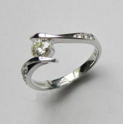 18k de gouden Ring van de Diamant (H2050)