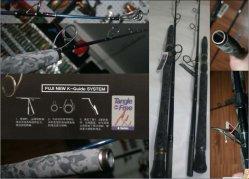 Het Ziften van het visTuig Staaf, Hengel van het Spel van het Zoutwater de Grote (SUPER K761 ZIFTEND)