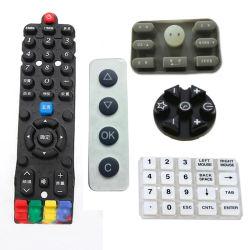 Fabrik-kundenspezifischer leitender Silikon-Gummi-Fernsteuerungstastaturblock