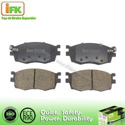 Autoteil-Semi-Metallic keramische vordere Scheibenbremse-Auflage für KIA Rio II Hyundai Akzent 581011ge00 Gdb3420 D1156