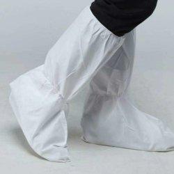 أغطية حذاء حماية الركبة-العالية غير نفاذة التهوية للرسائل القصيرة SMS 43GSM للمواد العلوية بجودة عالية