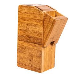 Populaires Boamboo écologique ustensile en bois de tige de support de bloc de couteau