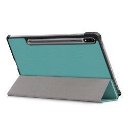 Pour Samsung Galaxy Tab S7 SM-T870 flip couvre Housse en cuir pour cas de Sm-T875