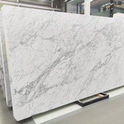 600 * 600mm Carrara White / Bianco White Polished Big Slabs customized countertop marble 床タイル( Floor Tile )の場合