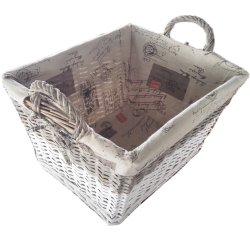 Almacenamiento de mimbre sauce mimbre cestas de picnic