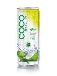 acqua della noce di cocco di sapore del limone 250ml & della menta