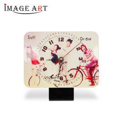 ساعة بطابقين MDF لطباعة الصورة