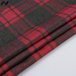 Tricot/Tricotage chaîne 62% coton 38% Polyester IMPRIMÉ Tissu pour vêtement Robe de RIB