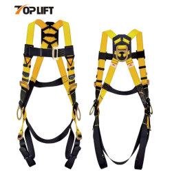 3D-Ring Arnés de seguridad Industrial Protección contra caídas de cuerpo entero con certificación ANSI de equipos de protección personal