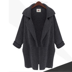الشركة المصنعة للمعدات الأصلية مكتب إدارة المواد الطوق الإناث الملابس العظمة السيدات عملة طويلة Coat [كمرس] [بلوونتنت] صوف نساء شتوية