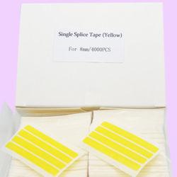 L'épissure unique bande CMS jaune ou bleu ou noir