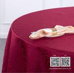 테이블 피복을%s 100%Polyester 자카드 직물 직물