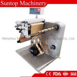 Embalaje suave y flexible de alta velocidad de rebobinado de película cortadora longitudinal de la máquina de corte para el PET, OPP, Película de PVC