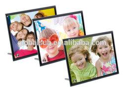 La sublimation impressions photo de verre cadres avec les produits de sublimation vierge