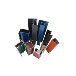 6063/6061 T5 de Profielen van de Uitdrijving van het Aluminium van de Reeks voor Bouw/Decoratie/Industrieel