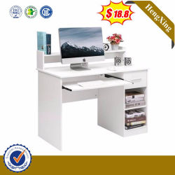 Los niños de madera de color blanco y moderno mobiliario para niños Inicio mesa de estudio administración de equipos de escritorio de oficina