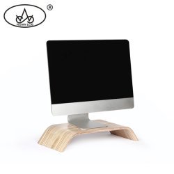 Bandeja de recepção de madeira Homeware jogos de computador Monitor Suporte para notebook riser central