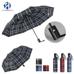 야외 우산 3 폴드 자동 오픈 우산 고품질 우산 선물/광고/프로모션을 위해 제작되었습니다