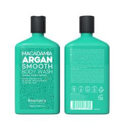 380 ml Wholesale Sulfaat-vrije Macadamia Argan Oil Smooth Body Wash