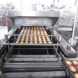 Fácil de usar máquina de hacer pastel para línea de producción