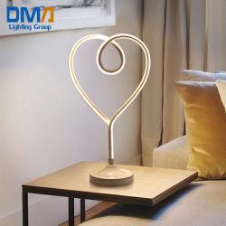 Nordic lampe de table de chevet de l'amour de l'art de décoration d'éclairage de lecture LED