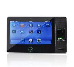 WiFiおよび現代組み込みのデザイン(Biopad100)の生物測定の指紋の時間出席レコーダー