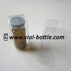 Transparentes Plastic Boxes für 10ml Glass Injection Kit, PVC Clear Boxes
